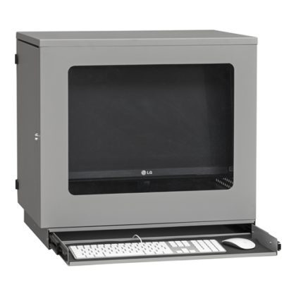 Datorskåp flatscreen väggmonterad 4-393-3