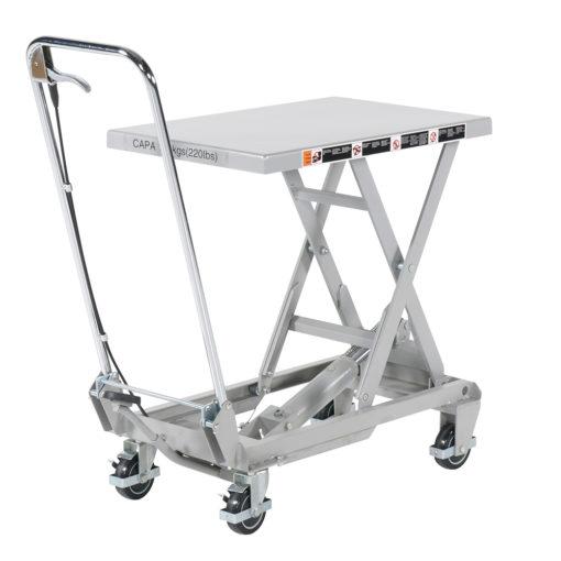 Saxlyftvagn i Aluminium