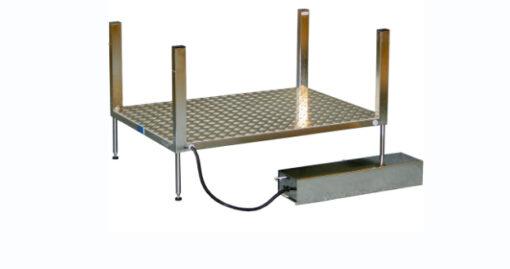 Höj & sänkbara rostfria standardplattformar
